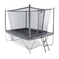 Pro-Line 3m x 2,25m suorakaide trampoliini turvaverkolla