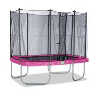 Iso Suorakaide trampoliini Exit Twist turvakehällä 214x305cm