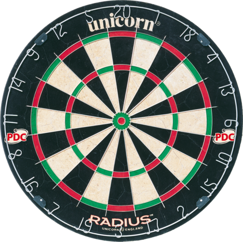 Unicorn Radius darts-taulu